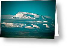 Mount Gurla Mandhata Greeting Card