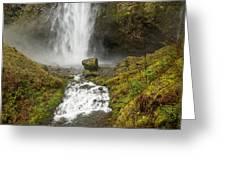 Multnomah Falls Series Greeting Card