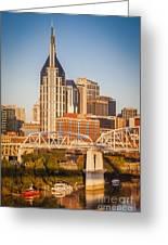 Nashville Morning Greeting Card