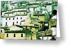 Navelli Village - Abruzzo - Italy Greeting Card