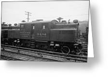 New York Central Railroad Greeting Card