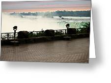 Niagara Falls Sunrise Greeting Card