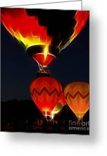 Night Of The Balloons Greeting Card