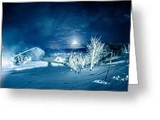 North Carolina Sugar Mountain Ski Resort Winter 2014 Greeting Card