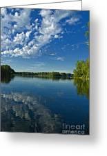 North Woods Lake Greeting Card