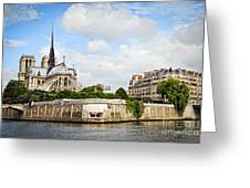 Notre Dame De Paris Greeting Card by Elena Elisseeva