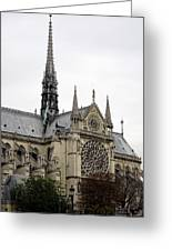Notre Dame In Paris France Greeting Card