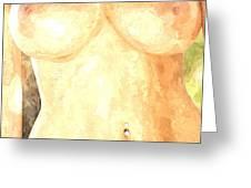Nude Women Greeting Card