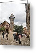 Nurnberg Germany Castle Greeting Card