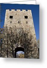 Old Sigulda Castle Ruins Greeting Card