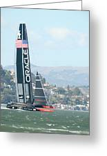Oracle Team Usa Greeting Card