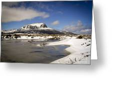 Overland Track Greeting Card
