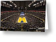 Pacers Indiana Greeting Card