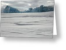 Pack Ice, Antarctica Greeting Card