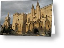 Palace Of The Pope - Avignon Greeting Card
