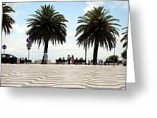 Palm Tree Illusion Greeting Card