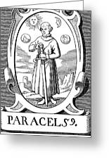 Paracelsus (1493-1541) Greeting Card