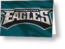 Philadelphia Eagles Uniform Greeting Card