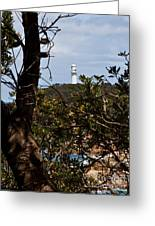 Point  Hicks Lighthouse Greeting Card