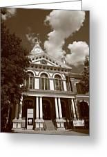 Pontiac Illinois - Courthouse Greeting Card