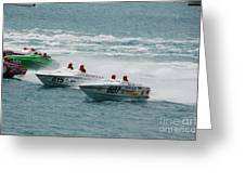 Port Huron Sarnia International Offshore Powerboat Race Greeting Card