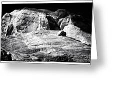 Portrait Of A Rock Greeting Card