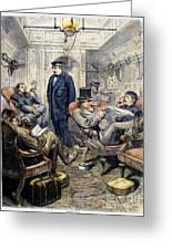 Pullman Car, 1876 Greeting Card