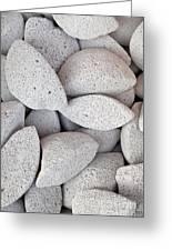 Pumice Lava Rocks Greeting Card
