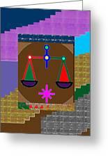 Pure Decorations Zodiac Symbol Art Greeting Card