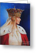 Queen Marie Of Romania Greeting Card