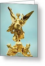 Queen Victoria Memorial In London Greeting Card