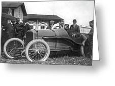 Race Car, 1914 Greeting Card