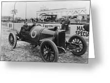 Racecar Drivers, C1913 Greeting Card