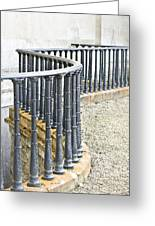 Railings Greeting Card