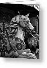 Retro Carousel Greeting Card