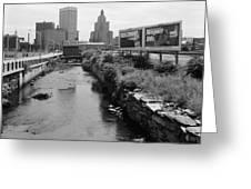 Rhode Island Canal Greeting Card