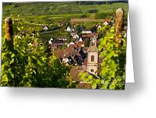 Riquewihr Alsace Greeting Card by Brian Jannsen