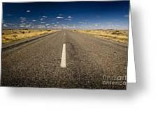 Road Ahead Greeting Card