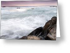 Rocky Coast Kejimkujik Np Nova Scotia Greeting Card