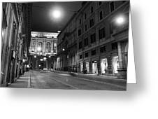 Roma By Night Greeting Card