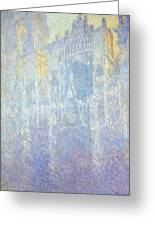 Rouen Cathedral Greeting Card