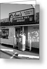 Route 66 - Ann's Chicken Fry House Greeting Card