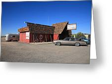 Route 66 - Bagdad Cafe Greeting Card