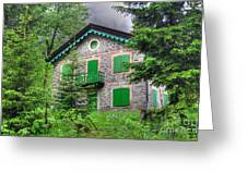 Rustic House Greeting Card
