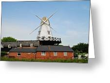 Rye Windmill Greeting Card