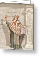 Saint Augustine Greeting Card by John Alan  Warford