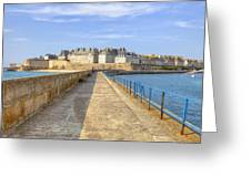 Saint-malo - Brittany Greeting Card