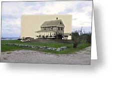 Sakonnet Point In Little Compton Rhode Island Greeting Card