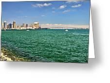 San Diego Bay Greeting Card