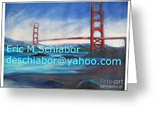 San Francisco Golden Gate Bridge Greeting Card